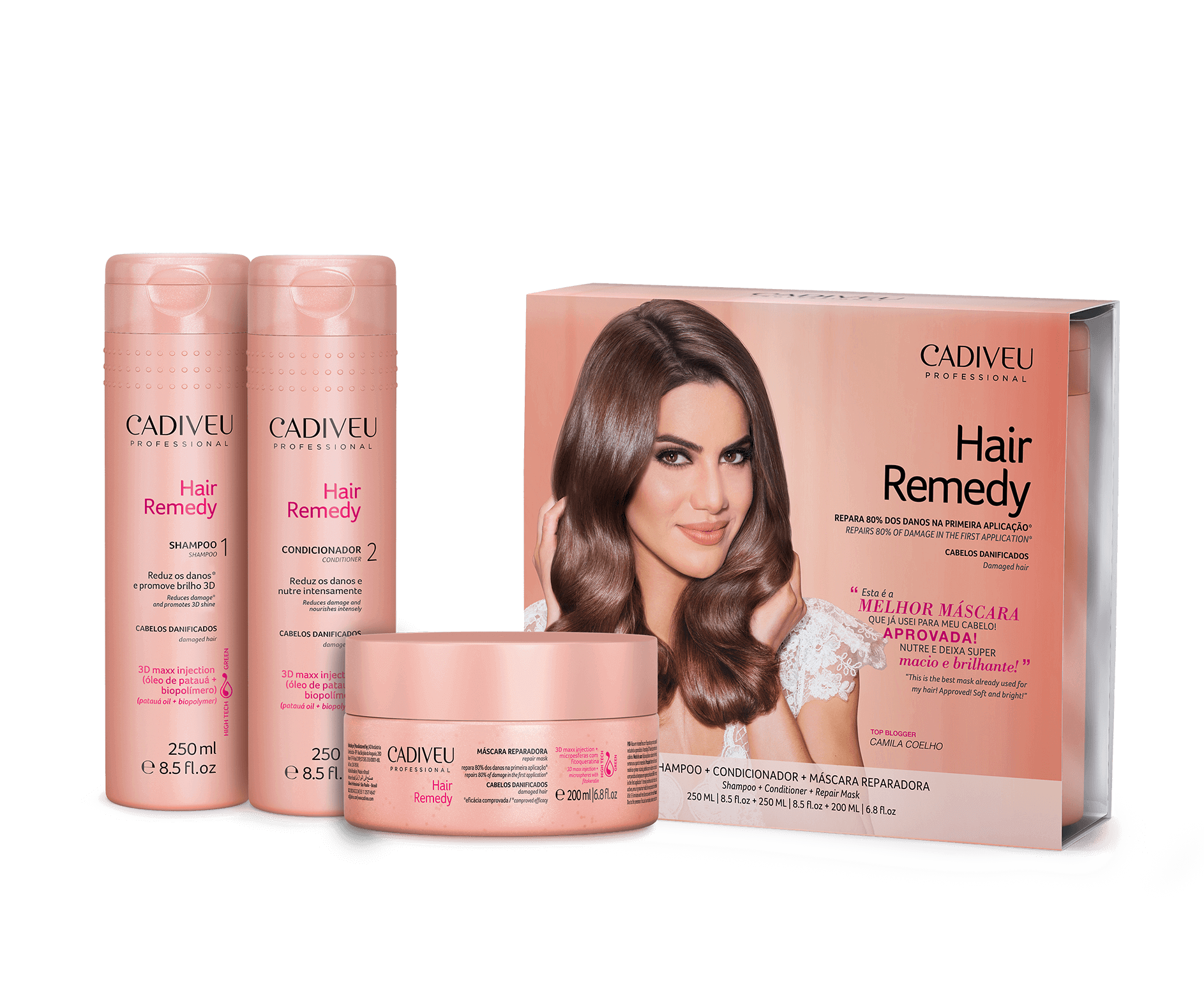Hair Remedy - Kit Home Care