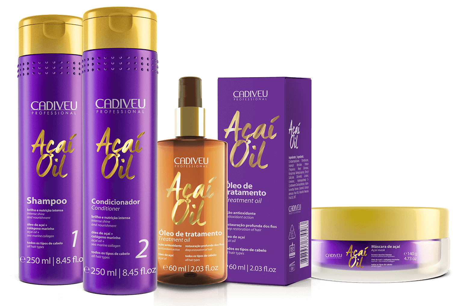 Açai Oil - Kit Home Care