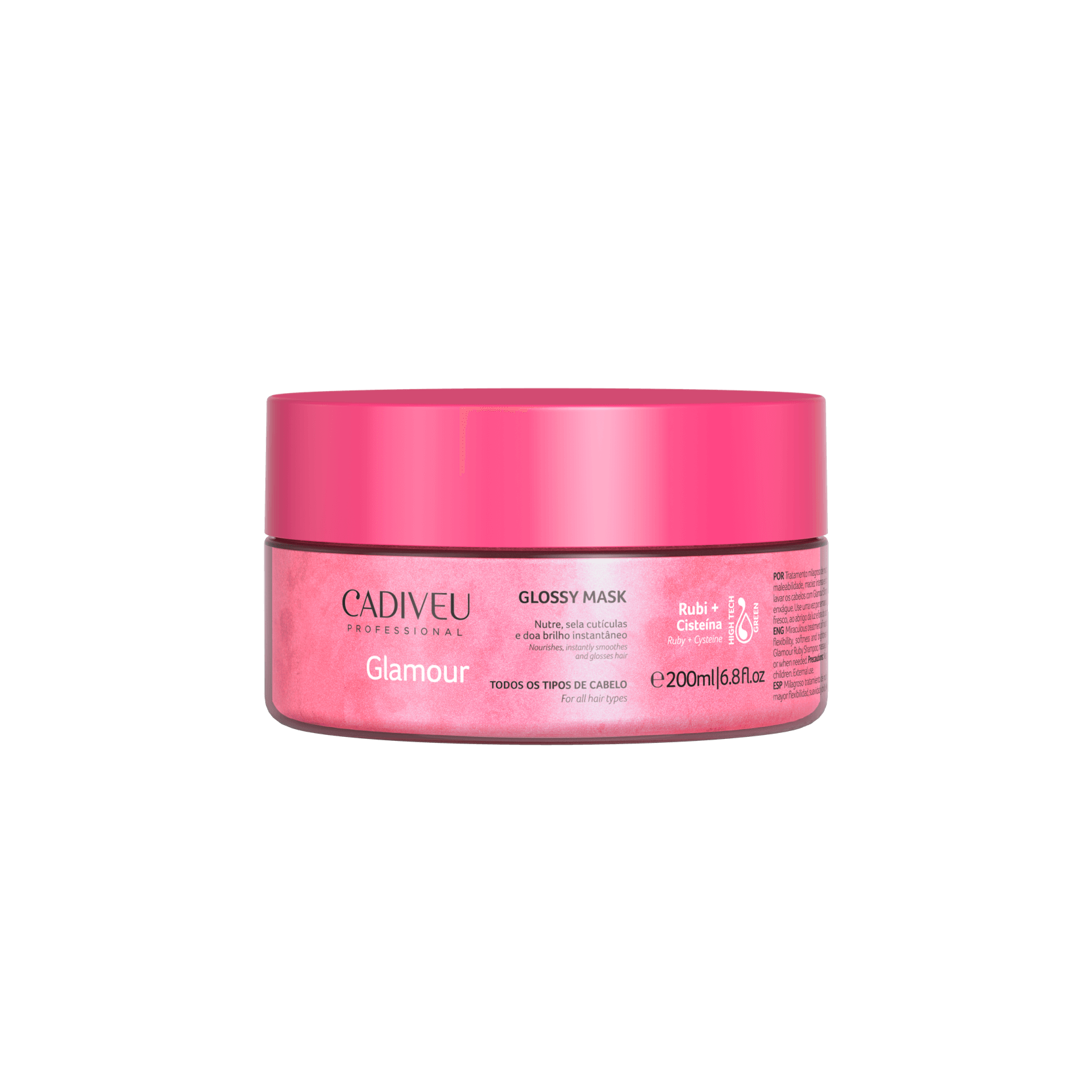 Glamour - Glossy Mask 200 Ml