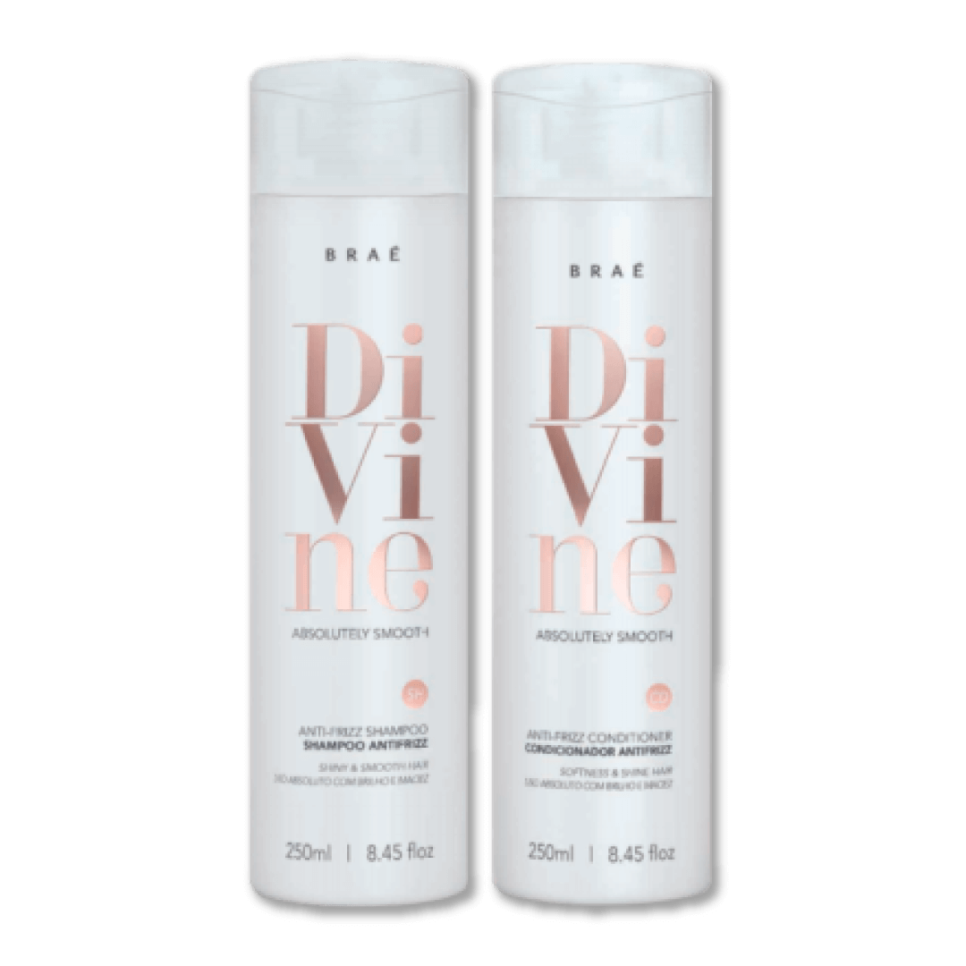 Divine - Home Care Kit Shampoo and Conditioner 250 Ml